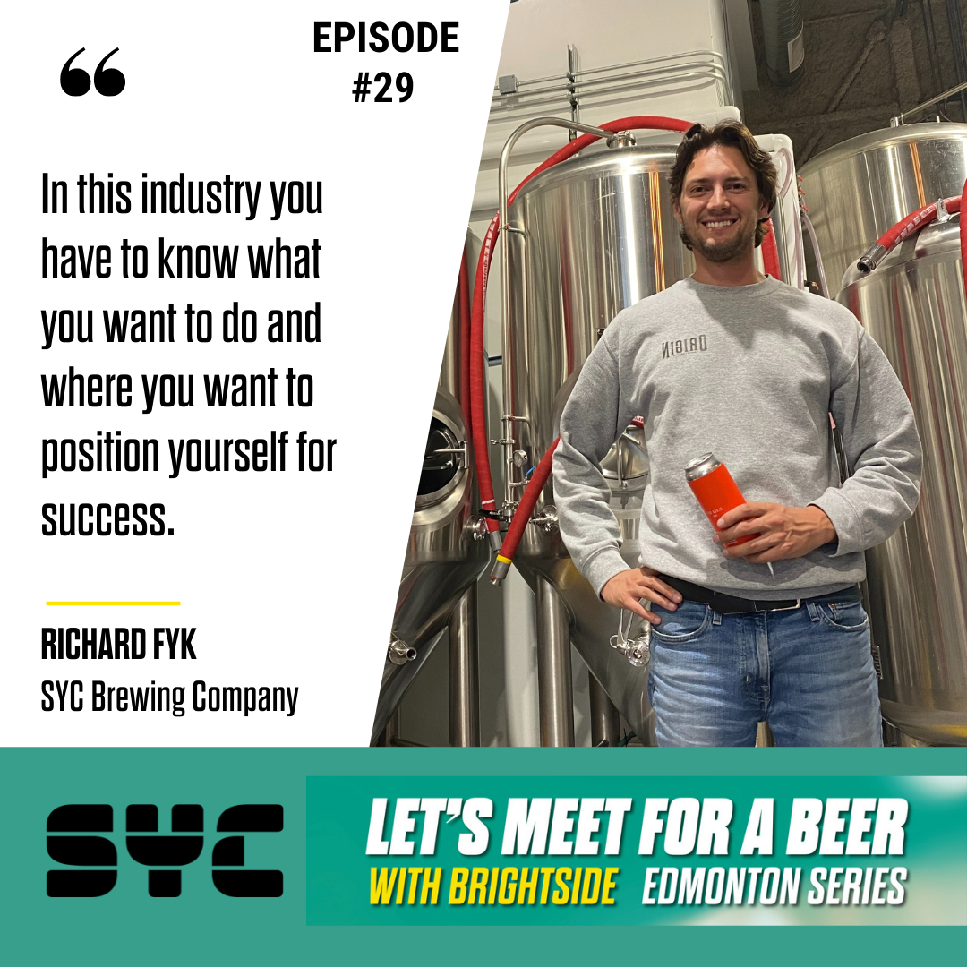 Episode 29 – Richard Fyk, Co-Founder – SYC Brewing Company